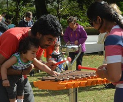 Cadenza Outdoor Xylophone for Family Music Fun