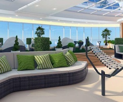 Percussion Play: New cruise ship has outdoor musical instruments onboard