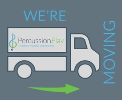Percussion Play: Percussion Play moves to new, larger premises