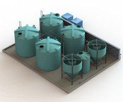 Enduratank: Wastewater processing using cone-bottom tanks