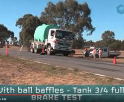 Enduratank: Baffle Ball System Water Tank Testing