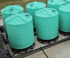 Food-grade polyethylene cone tanks (200-30,000L
