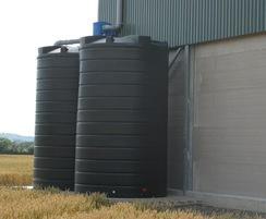 Enduramaxx 25,000-litre rainwater tanks installed