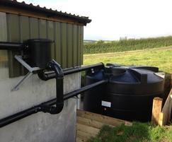 Enduramaxx 8500-litre rainwater tank installed