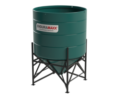 4000 Litre Open Top Cone Tank with Frame option