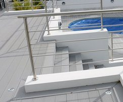 SAiGE decking has a low water absorption level