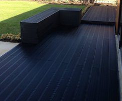 Composite decking will not split, rot or warp