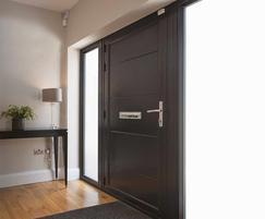 Origin high grade aluminium front doors