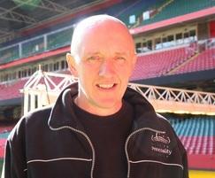 Lee Evans, Head Groundsman at Principality Stadium