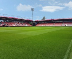 J Premier Pitch seed mixture is used at AFC Bournemouth