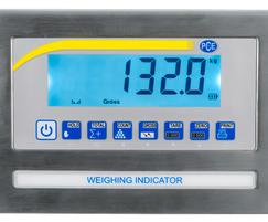 Weighbridge PCE-EP 1500 display