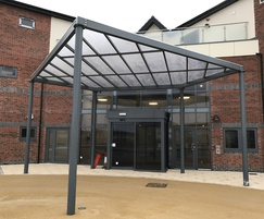 Bespoke entrance canopy for day centre