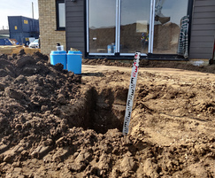 Remedial works: Clean soil thickness
