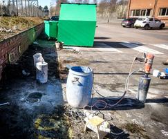 Site investigation: Concrete coring