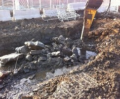 Excavation of foundations / contaminated soil
