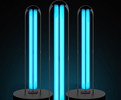 VEWbeam ultraviolet UVC disinfection lamps