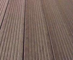 hanit® recycled plastic has a timber finish effect