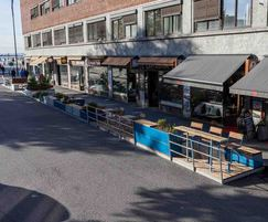 PARKLET 2.0 featuring range of outdoor furniture