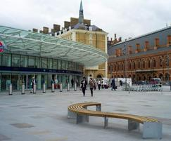VIA bench at Kings Cross