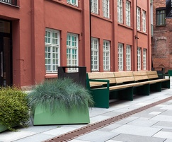 BLOC double bench