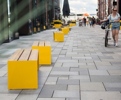 BLOC benches without backrest