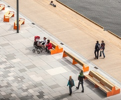 BLOC benches at Aker Brygge, Oslo