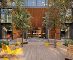 Outdoor furniture - Republic, East India Docks