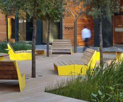BLOC sun benches