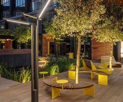 BLOC outdoor seating