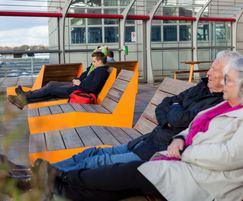BLOC sun benches - Hamburg Airport