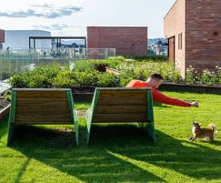 BLOC sun benches for smaller groups and individuals