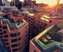 Outdoor seating and tables - residential roof terraces