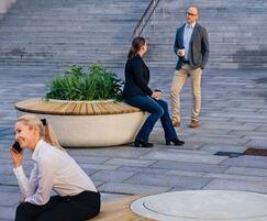 SOL heavy-duty circular benches
