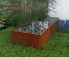 Aluminium Pond Water Feature Pot Company Esi External Works