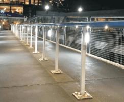 RetroLux installation - Greenwich Pier, London