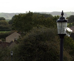 Traditional lantern suits conservation areas