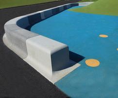 Playround bench