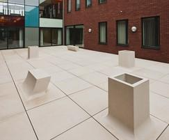 Pop Up planters and seating