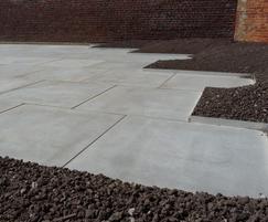Custom large-format concrete slabs-Hasselt University