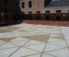 Custom concrete slabs - Hasselt University