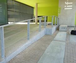 Custom concrete slabs,  Leuven (B)
