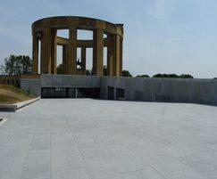 Westfront Nieuwpoort monument, custom insitu concrete
