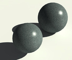 Round cast stone bollards