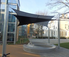 In & Out bench, Kings College, London