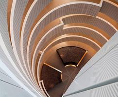 Gasholders RIBA award winning inner atrium