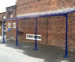 Simplicity 6 Series toughened glass canopy