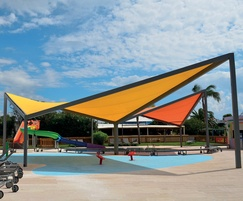 Vela 150 modular canopy in range of colours