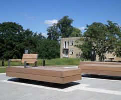 External furniture for, Bath Spa University campus