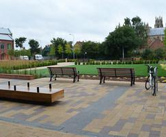 Sculpture seats and Big Harris benches, Hull