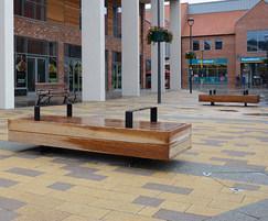 Big Harris benches at Flemingate, Hull